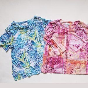 COLORFUL Alfred Dunner Top Bundle of 2 - Size Lg